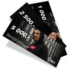 Dárkový poukaz v hodnotě 5 000,-