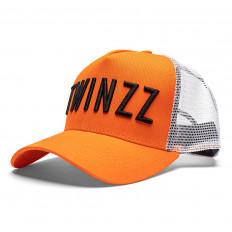 Oranžová kšiltovka Twinzz Trucker