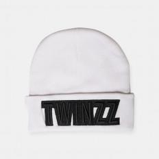 Bílý zimní kulich Twinzz UBER EMBRO