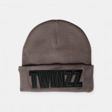 Hnědý zimní kulich Twinzz UBER EMBRO