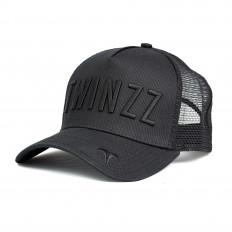 Černá kšiltovka Twinzz Tricolor