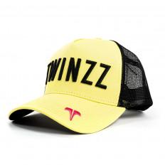 Žlutá kšiltovka Twinzz 3D Mesh Trucker