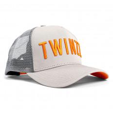 Šedá kšiltovka Twinzz Tricolor