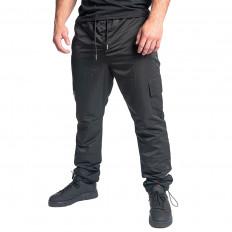 Černé kalhoty s kapsami na bocích BLANCO