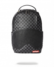 Batoh Sprayground Henney Black Checkered Shark Mouth