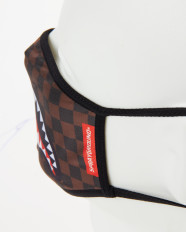 Rouška Sprayground Sharks in Paris Brown Fashion Mask