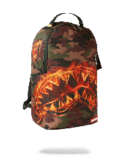 Batoh Sprayground Fire Shark Backpack