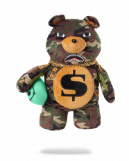 Batoh Sprayground TED Money Bear Camo Backpack