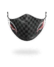 Šedá Rouška Sprayground Sharks in Paris Vegan Leather
