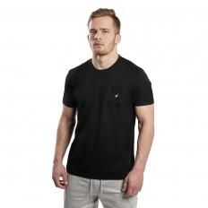 Černé tričko Staple Pigeon Mini pocket tee2