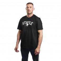 Černé tričko Staple Pigeon College Tee
