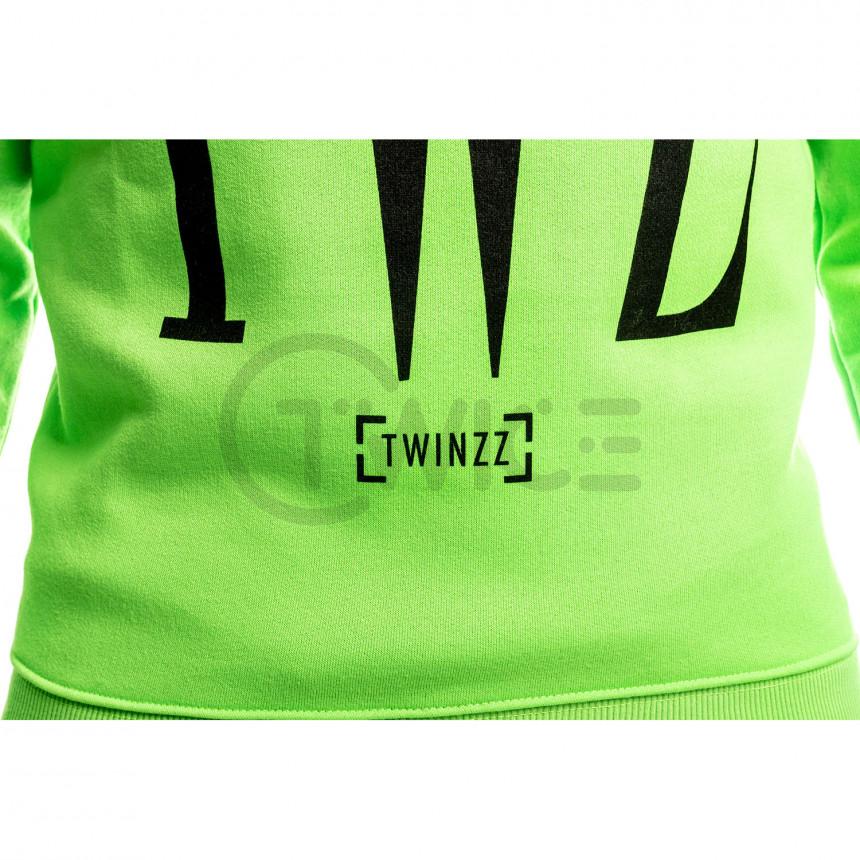 Zelená mikina Twinzz Rossi
