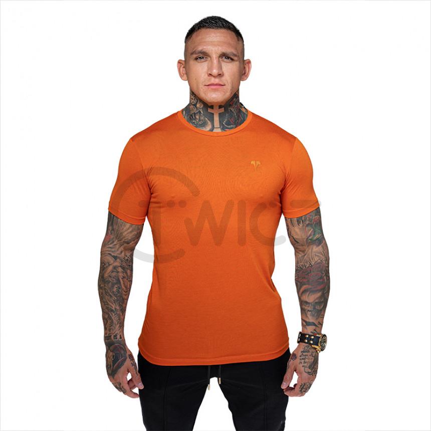 Oranžové tričko TWINZZ PREMIUM