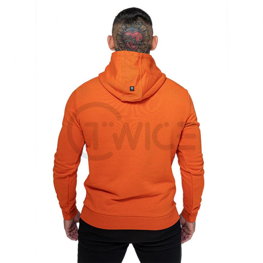 Oranžová mikina TWINZZ PREMIUM