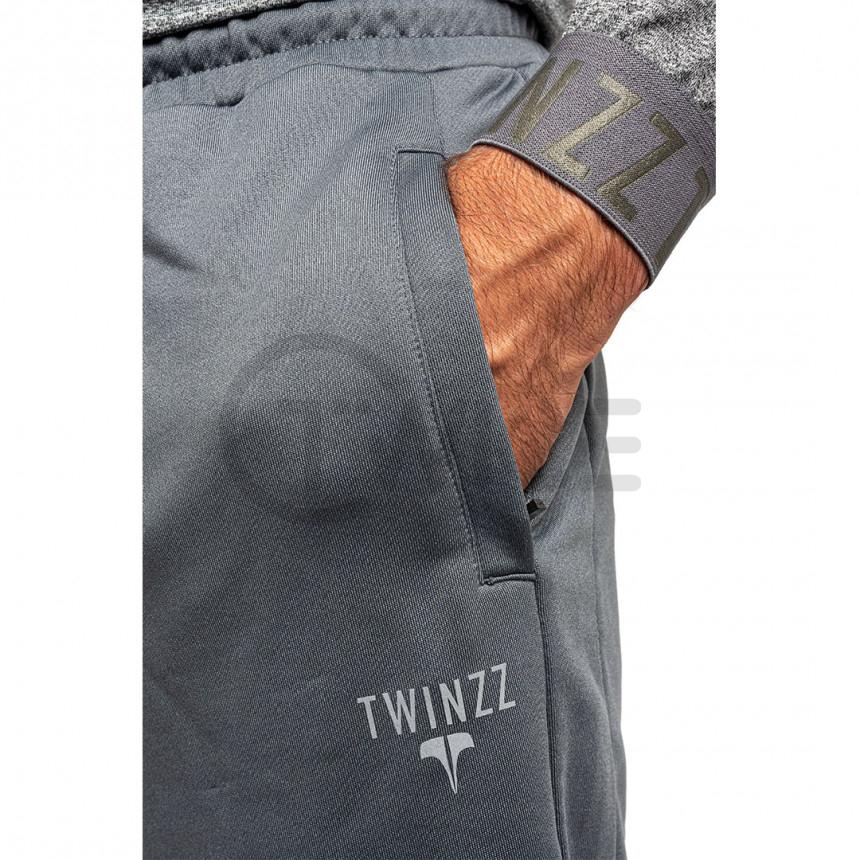 Šedé kraťasy Twinzz Pro