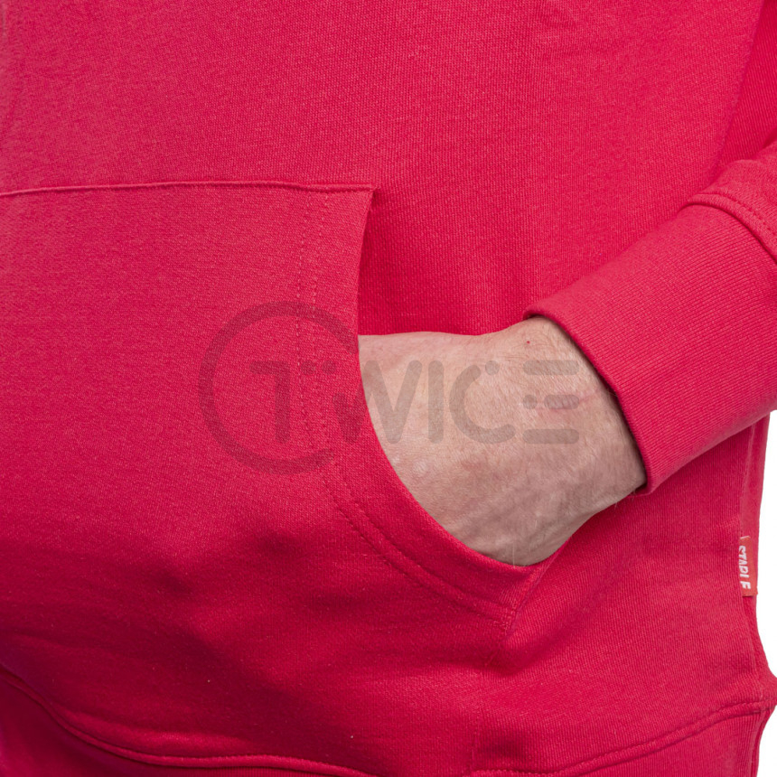 Červená mikina Staple Pigeon Collegiate hoodie