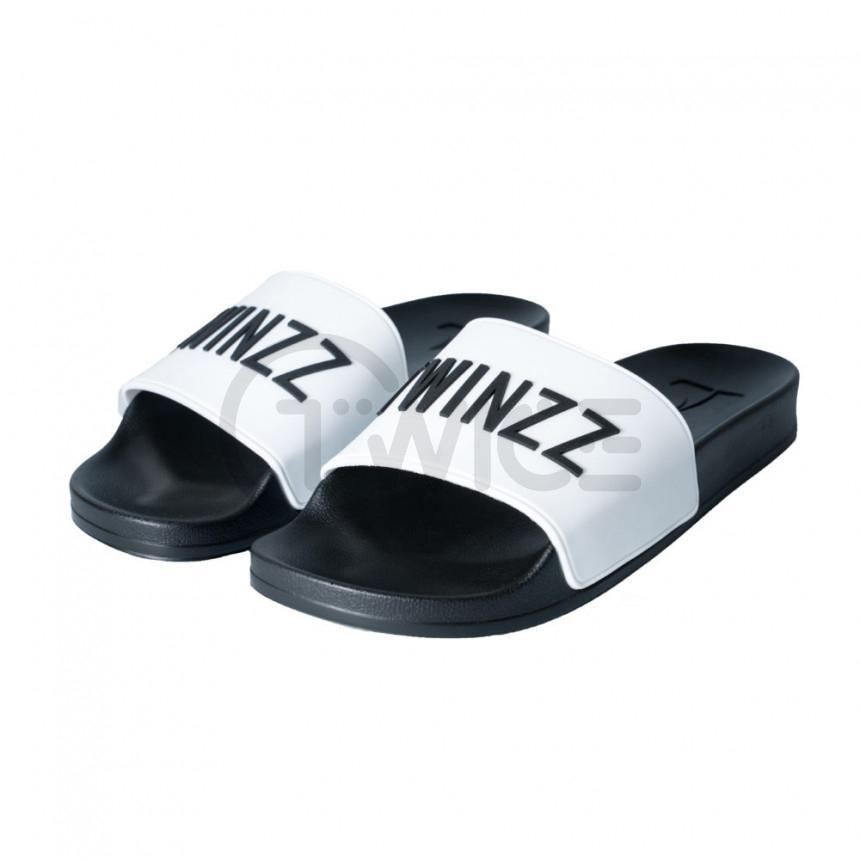 Bílé pantofle TWINZZ Positano Slide