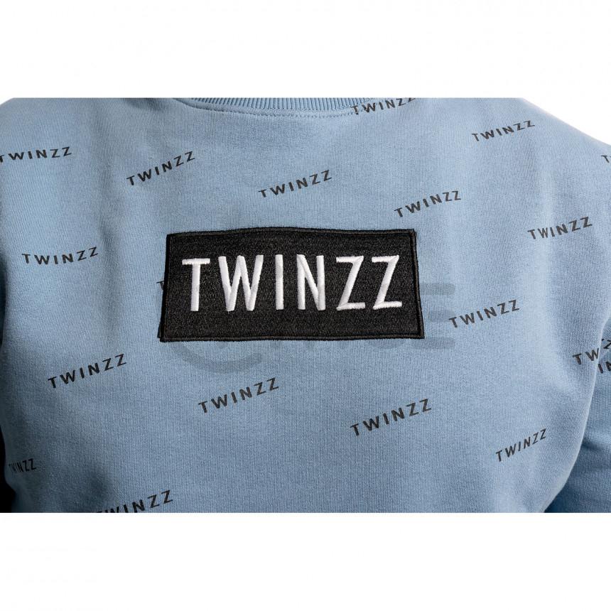 Modrá mikina Twinzz Pinellii
