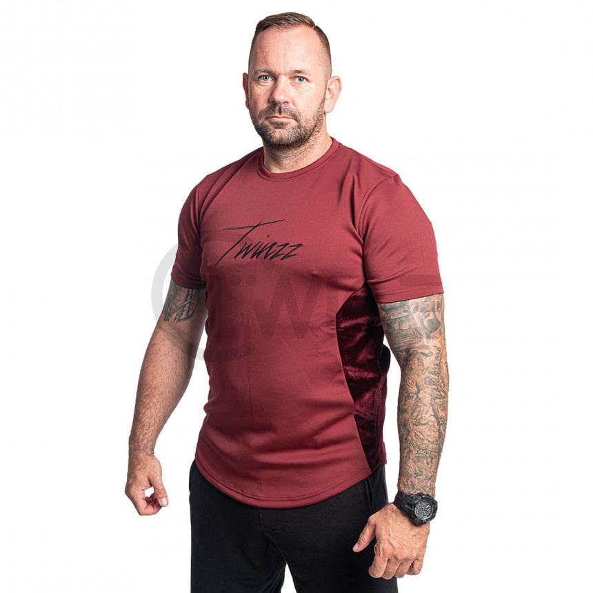 Červené tričko Twinzz Albert