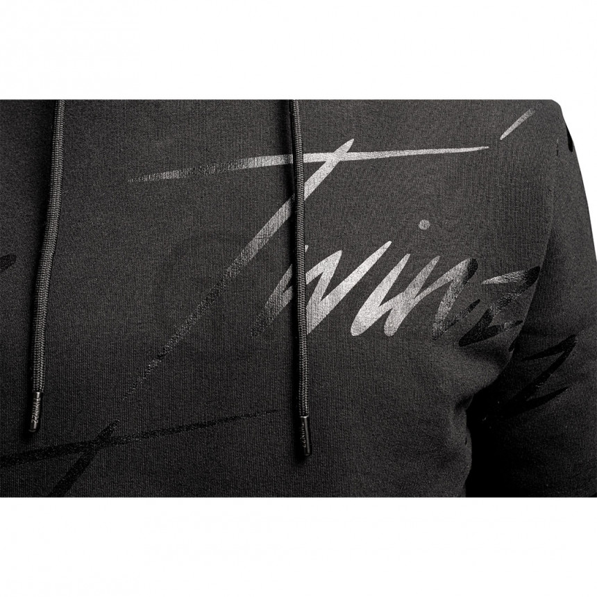 Černá mikina s matnými nápisy Twinzz Lightning Rip