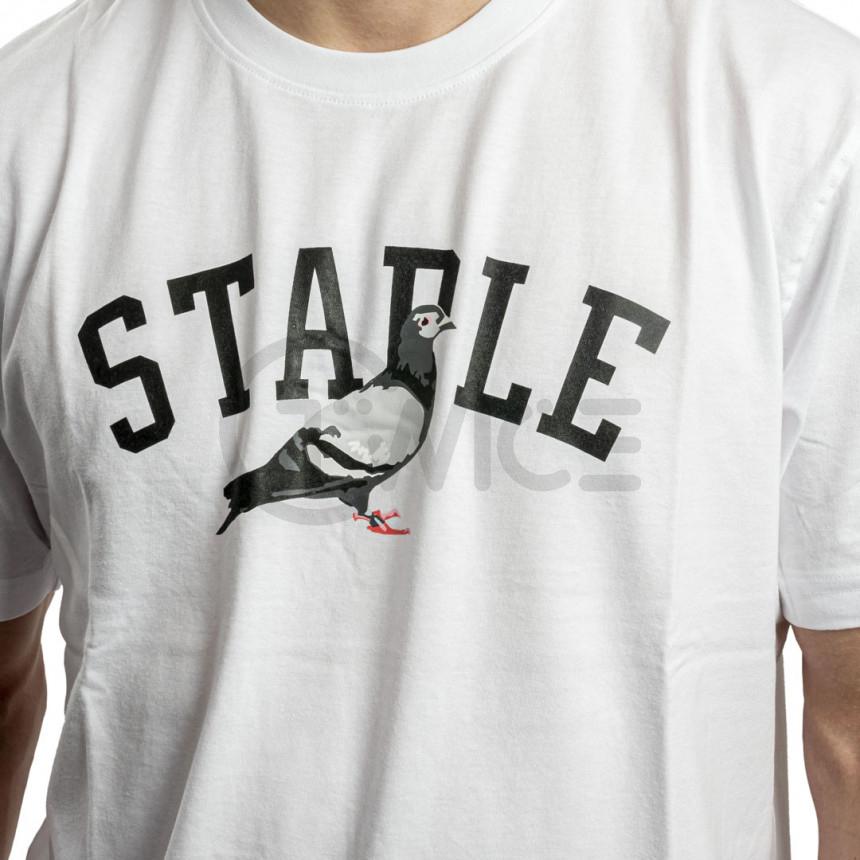 Bílé tričko Staple Pigeon College tee