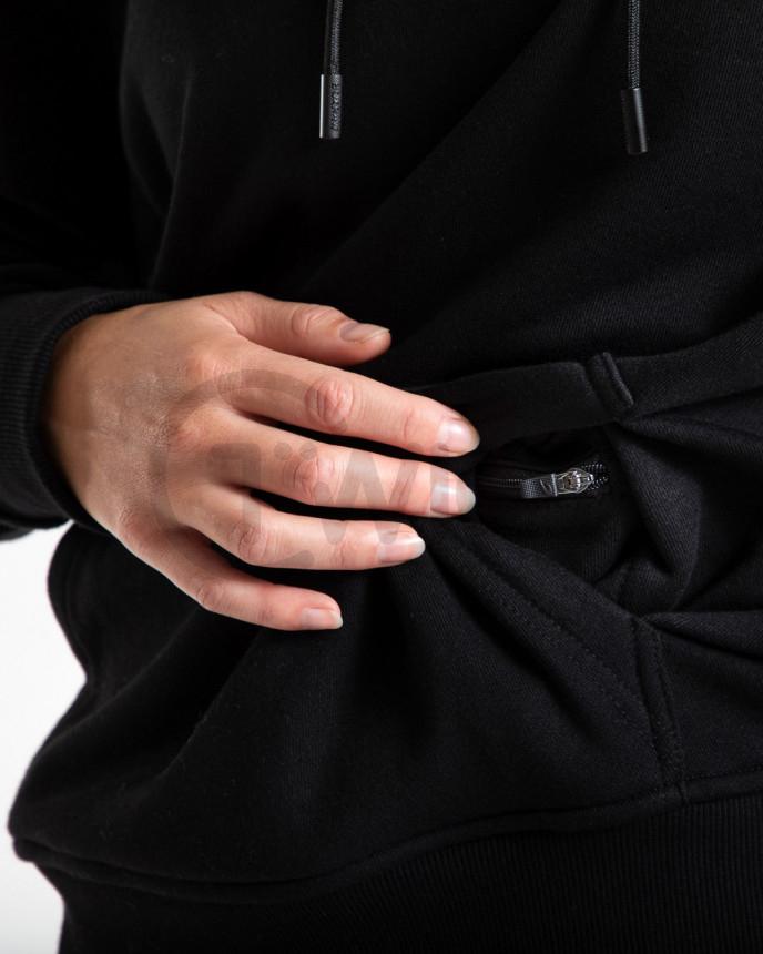 Dámská černá mikina Boxraw HRDR FSTR SMTR