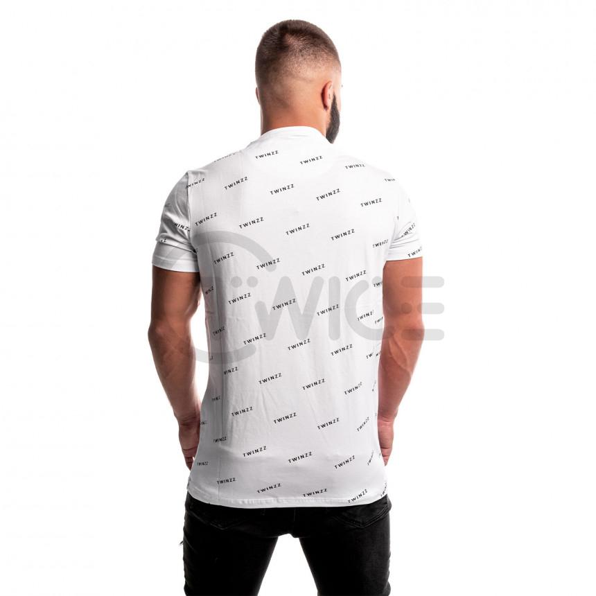 Bílé tričko Twinzz Pinellii