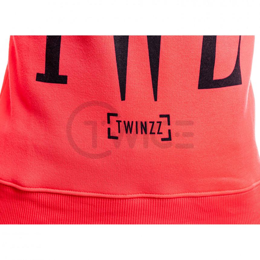 Růžová mikina Twinzz Rossi