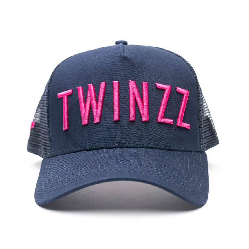 Modrá kšiltovka Twinzz Trucker