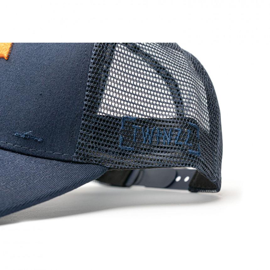 Modrá kšiltovka TWINZZ Rockland Ecom Trucker