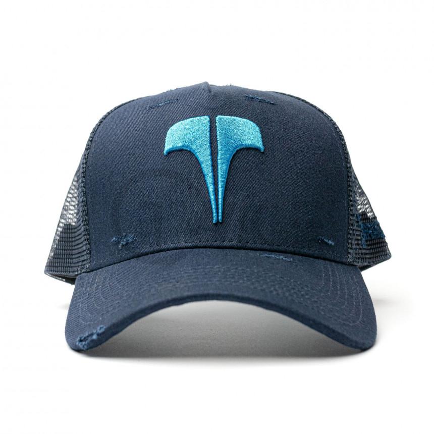 Tmavě modrá kšiltovka TWINZZ Ecom Trucker