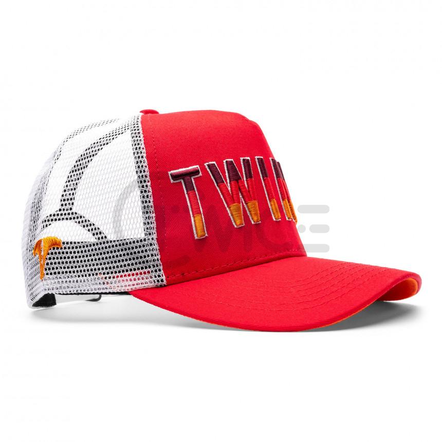 Červené kšiltovka Twinzz Gradient Trucker