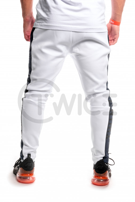Bílé tepláky Twinzz Andrea Jogger
