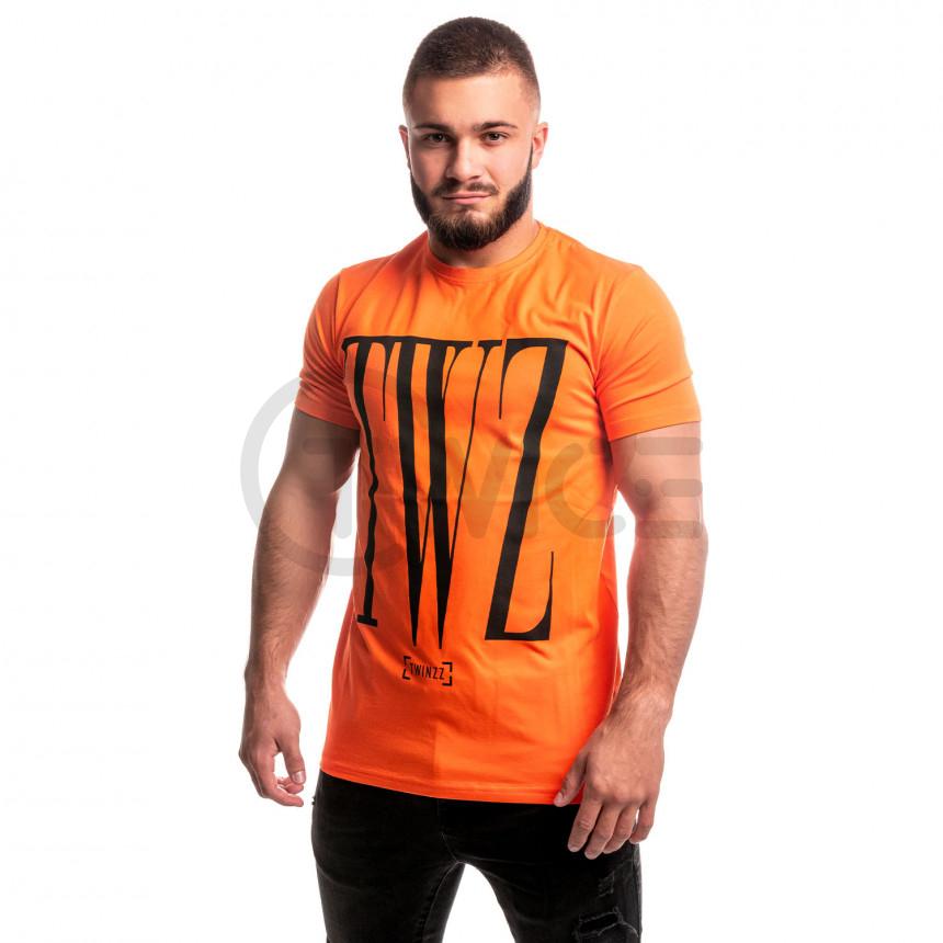Oranžové tričko Twinzz Rossi