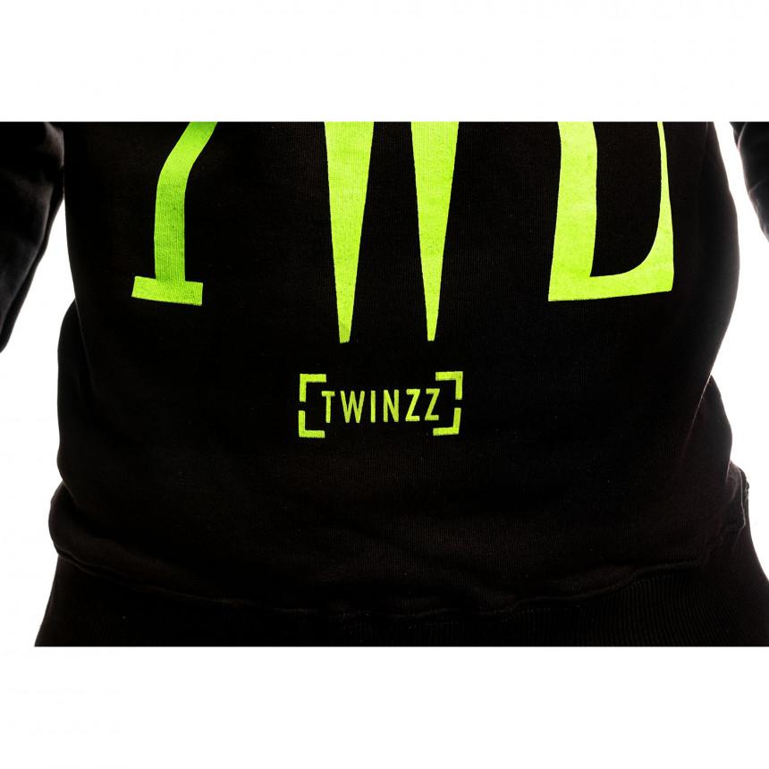Černá mikina Twinzz Rossi