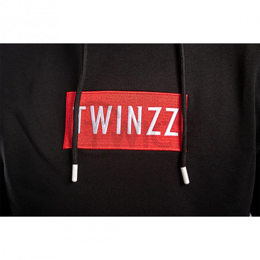 Černá mikina Twinzz Azzuro