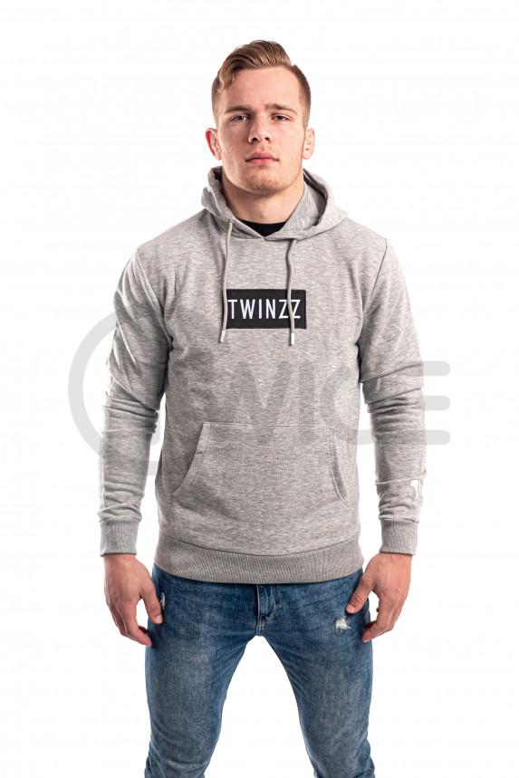 Šedá mikina Twinzz Azzuro