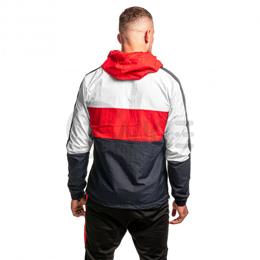 Modro bílo červená větrová bunda Twinzz LUCAS