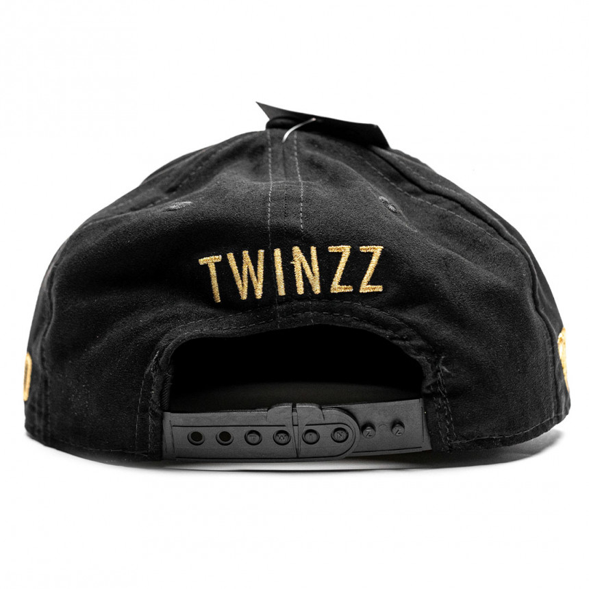 Černá kšiltovka snapback TWINZZ BENGORO