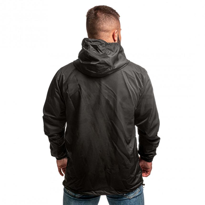 Černá větrová bunda Twinzz BLANCO