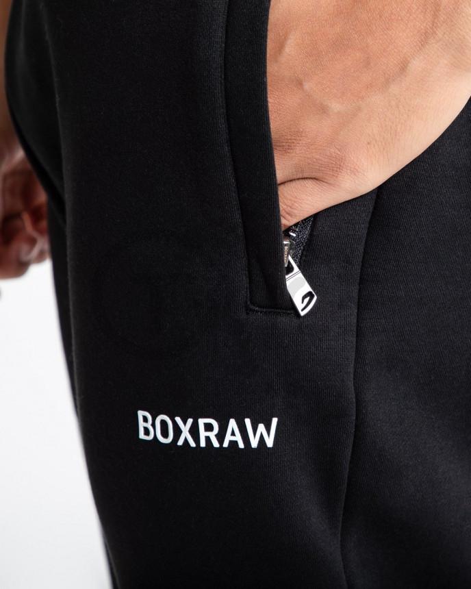 Černé tepláky Boxraw Johnson