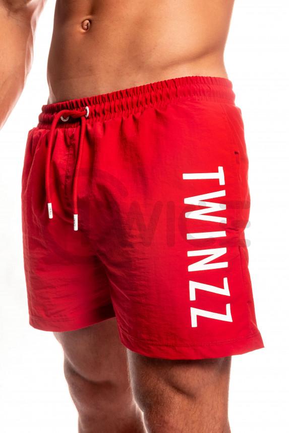 Červené plavky Twinzz Mario