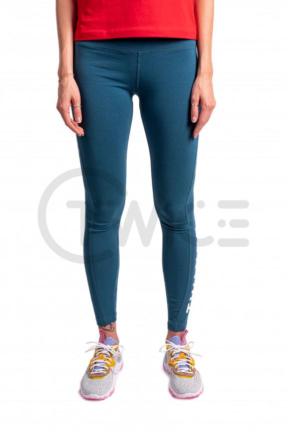 Dámské modré legíny Twinzz Active Squat Leggins