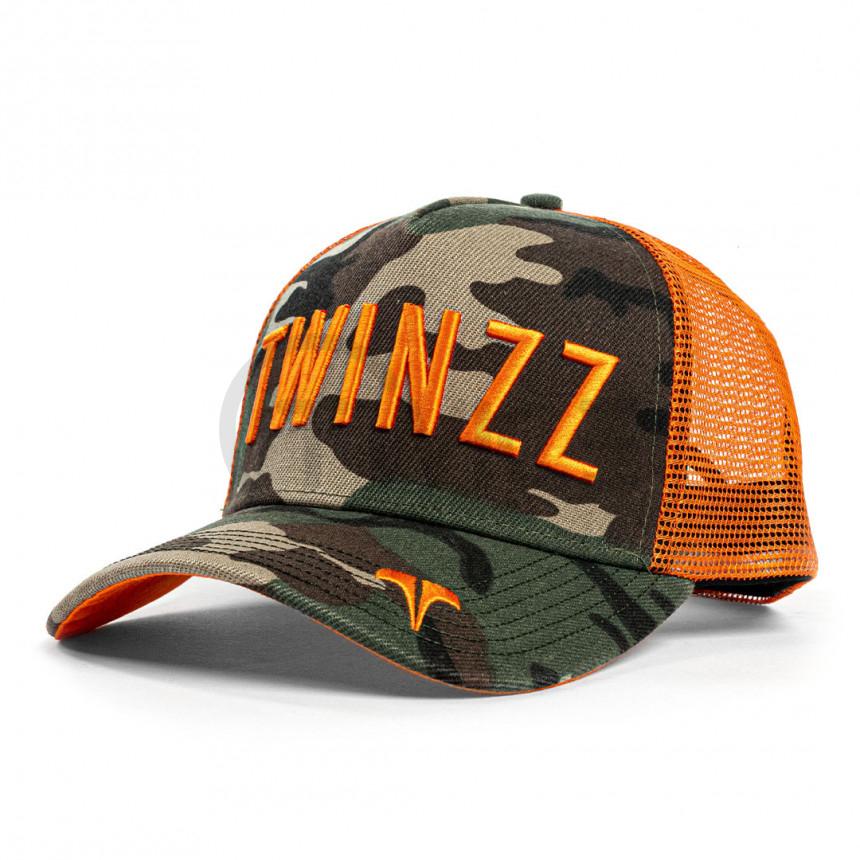 Maskáčová kšiltovka Twinzz Tricolor