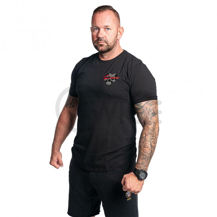 Černé tričko Twinzz Raza Skullheart
