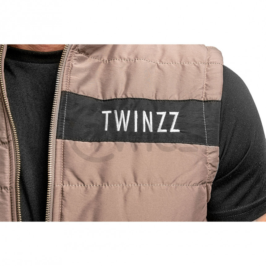 Šedá vesta Twinzz ROSELLI