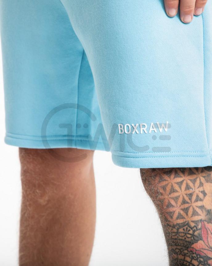 Světle modré kraťasy Boxraw Johnson