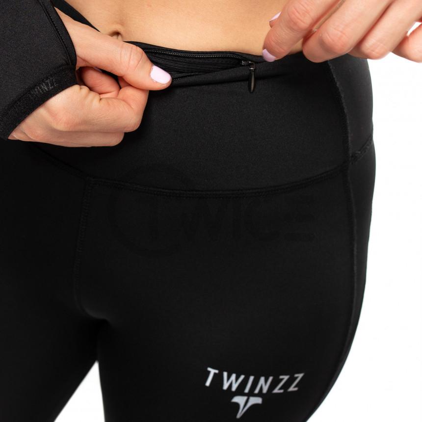 Černé dámské legíny Twinzz Pro Active
