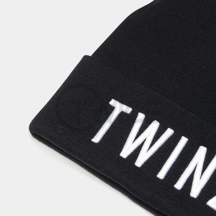 Černá zimní čepice Twinzz 3D Beanie