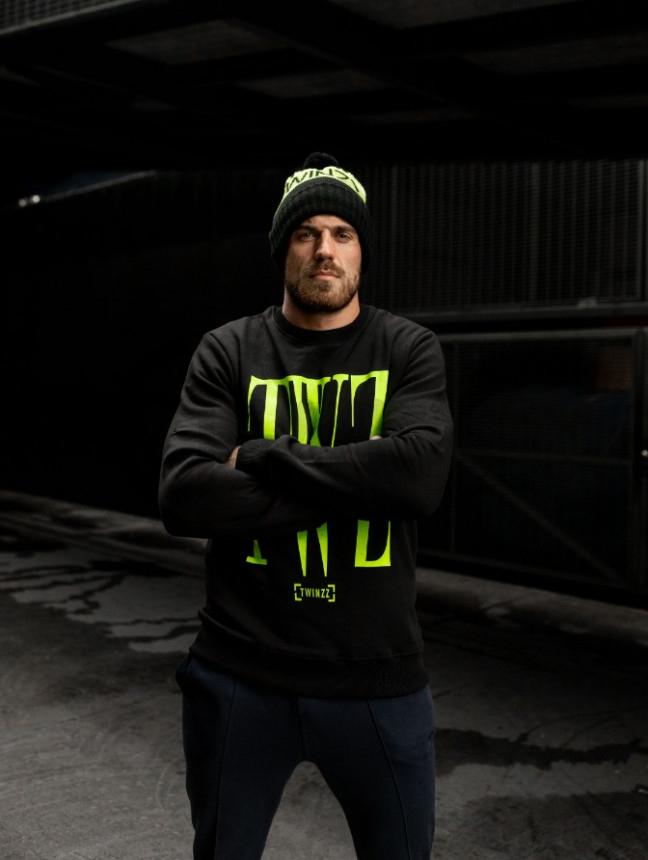 Rossi set Black/ Lime